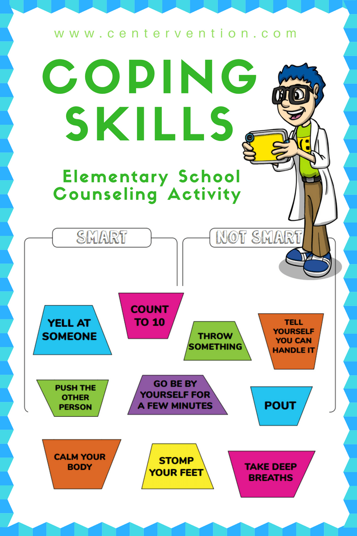 Persnickety image inside free printable coping skills worksheets