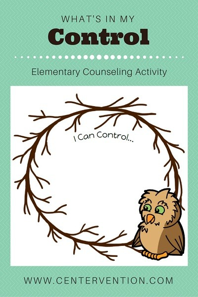 circle of control worksheet