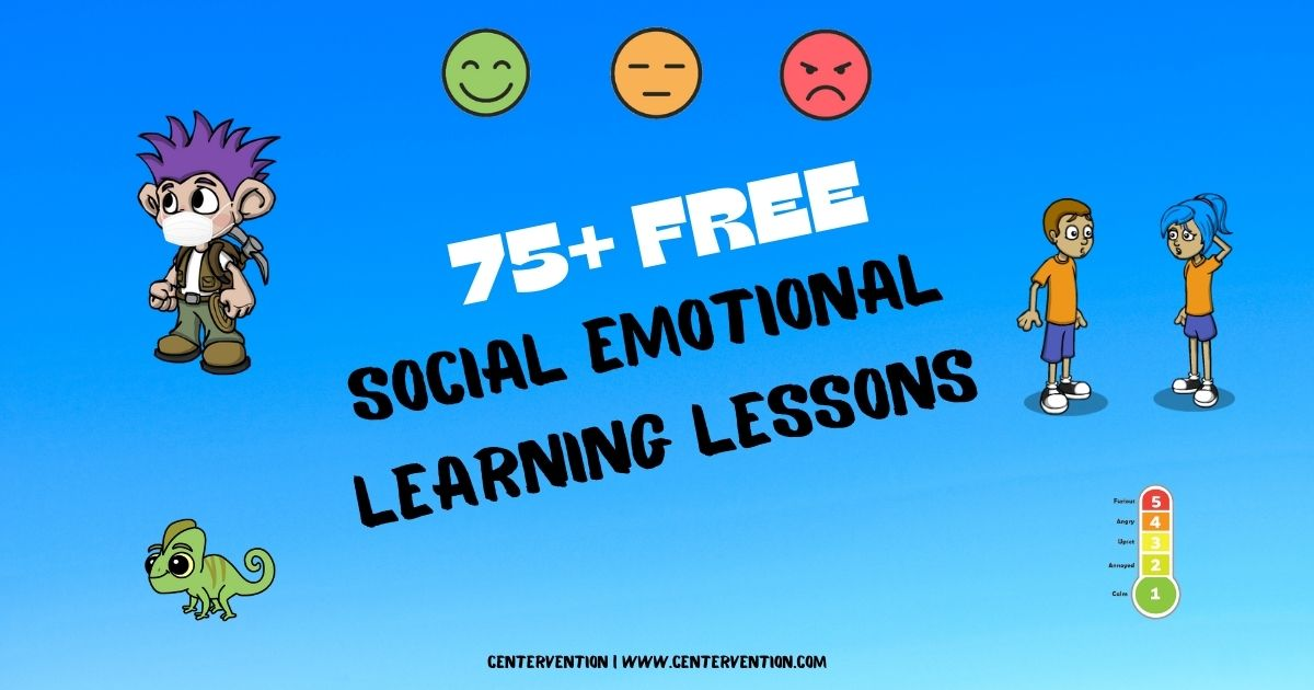 75 Free Social Emotional Learning Activities Centervention - 22+ Social Emotional Emotions Worksheets For Kindergarten Pdf PNG