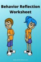 Think Sheet: Behavior Reflection Exercise