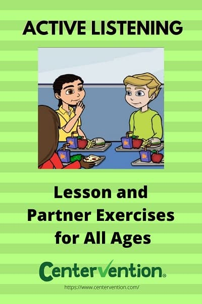 Active Listening Exercises Pin