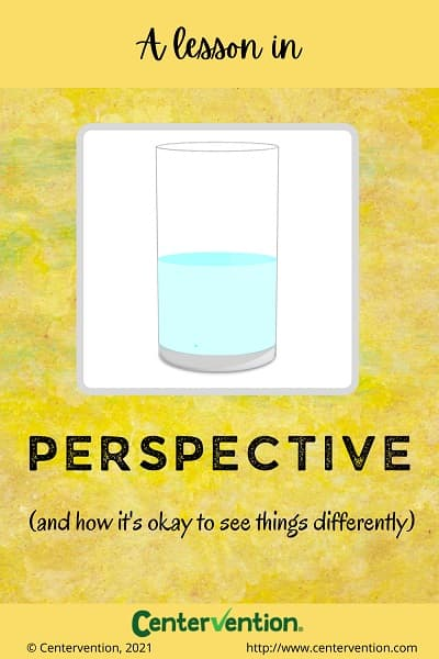 Perspective Taking Activity Pin