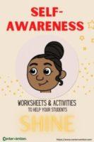 Self Awareness Worksheets