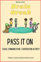 Cooperative Play Activity For Kids